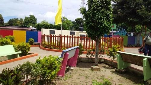 Parque de La Paz de Oriente, restaurado