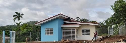 Puesto de salud mejorado en la Colonias las Milpas, Nueva Guinea