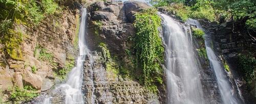 La Chorrera con sus dos caídas de agua