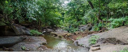 La Pilita del Señor de Esquipulas cuyas aguas son consideradas milagrosas por la piedad popular