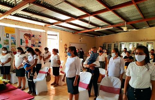 La Paz Centro: Egresadas del curso de cocina básica