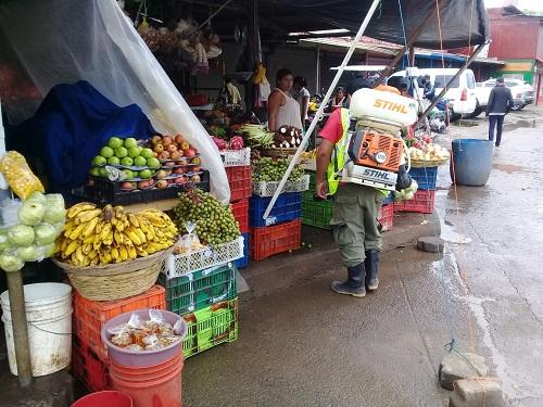 En el mercado de San Carlos