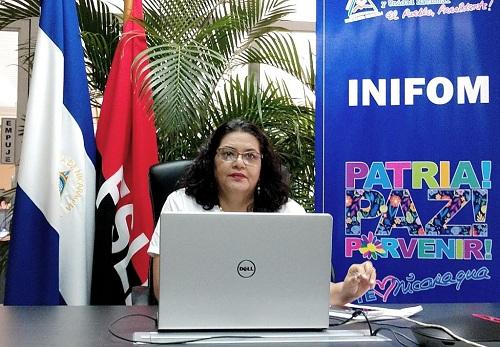 Presidenta de Inifom, Guiomar Irías