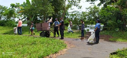 Jornada de limpieza San Juan de Nicaragua