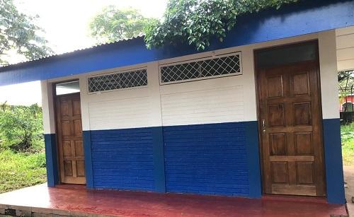 Restauración de centro escolar Rubén Darío en Santa Teresa