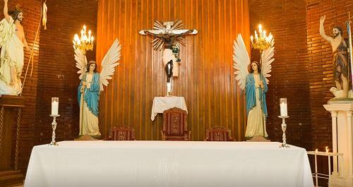 Imagen del Señor de la Trinidad con más de 300 años de antiguedad