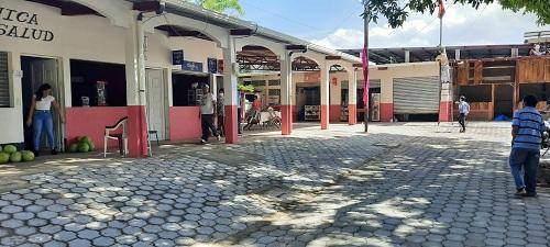 Mejoras en el mercado de San Juan de Limay
