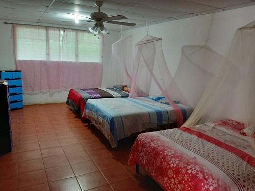 Dormitorio de la casa materna