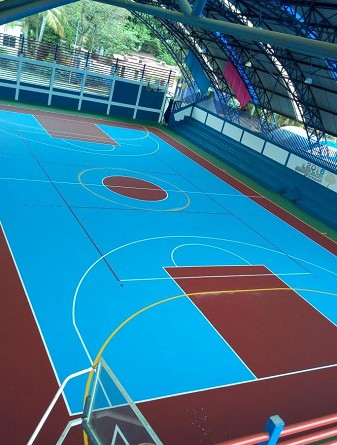 .Las familias de Ticuantepe inaugurarán el polideportivo ubicado en el barrio Medardo Andino el cual fue objeto de significativas mejoras.