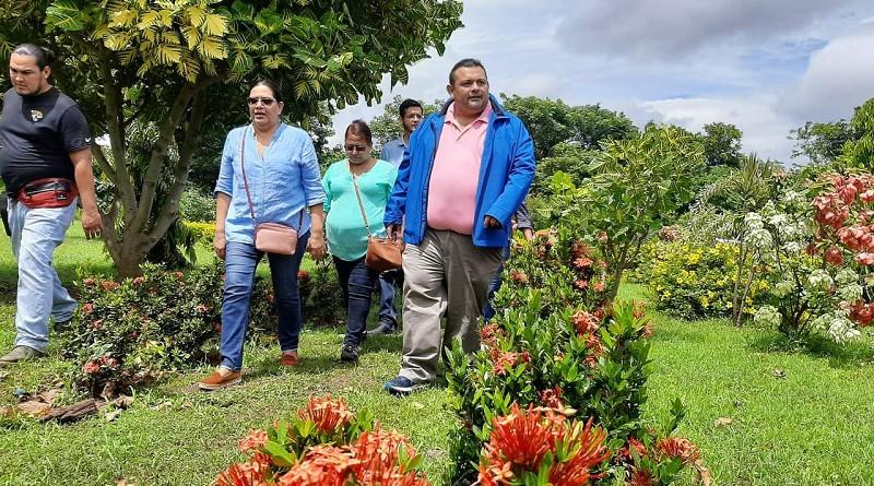 Visita de la presidenta del INIFOM al municipio El Rosario, pionero y referente nacional en el manejo y tratamiento de la basura