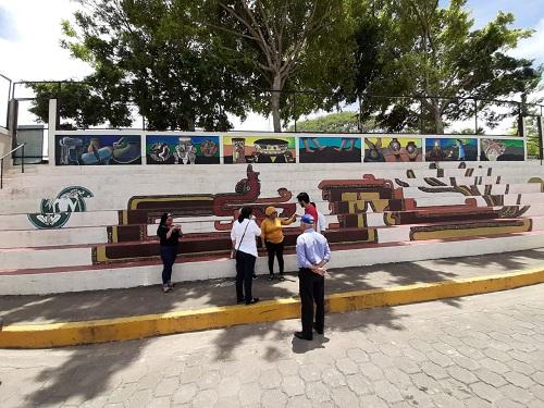 Mural turístico