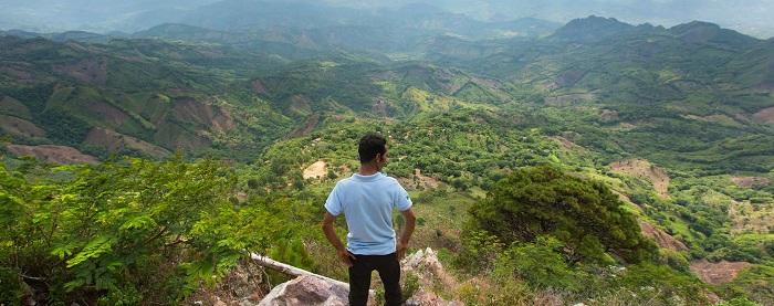 Mirador natural desde Los Altos de Ocotal
