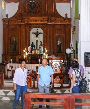 Capilla dedicada al Señor de Esquipulas en su Santuario