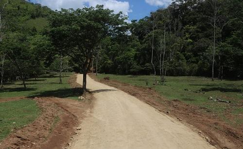 En siuna se repararon 6.6 kilómetros de camino en el sector de San Isidro