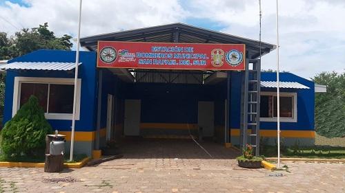 En el barrio Las Palmeras de San Rafael del Sur se inaugurará la estación de bomberos con importantes restauraciones.