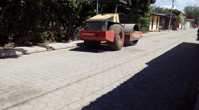 Nueva calle en Nindirí