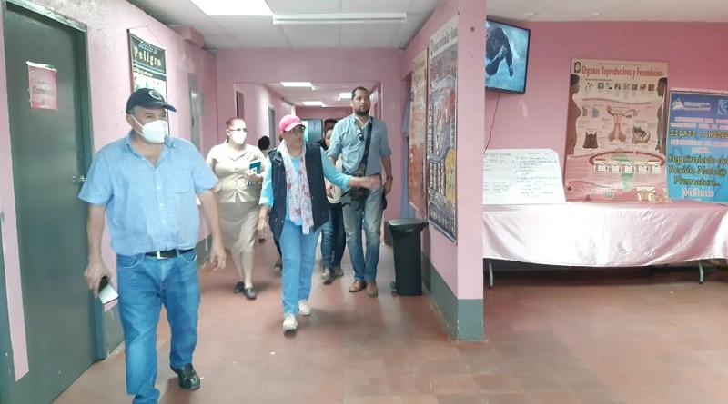 En el  centro de salud Ambrosio Mogorron