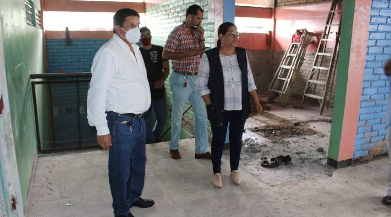 Centro de Desarrollo Infantil del mercado, en reconstrucción y mejoras.