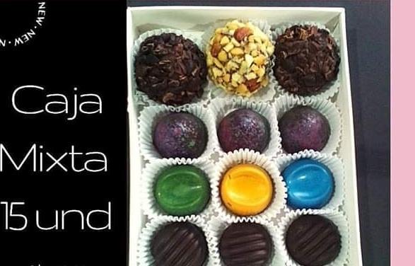 Chocolates elaborados en la empresa Tininiska. un emprendimiento local