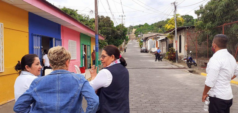Por las calles de La Concordia