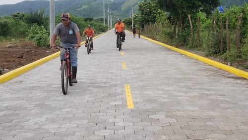 En Mateare se construyeron siete  calles en el barrio Dios Proveerá