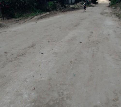 En Cusmapa se rehabilitaron 4 kilómetros de camino en la comunidad El Apante