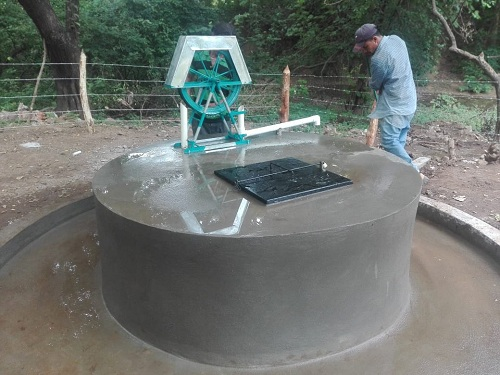 Mini acueducto por bombeo el+ectrico (Mabe) mejorado en la  comunidad El Arenal en El Jícaro