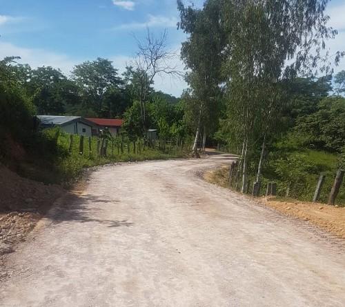 En San Pedro del Norte  fueron rehabilitados seis  kilómetros de caminos en el tramo  Bijagua -Laureles- Panal