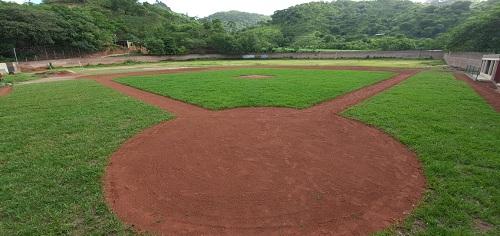 Mejoras en el estadio de Yalaguina