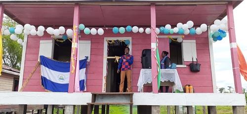 Desembocadura del Río Grande:Construcción del centro de Salud en la comunidad la Esperanza