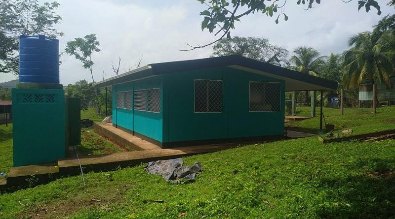 La comunidad Mukuswas enBonanzacon su centro de salud mejorado