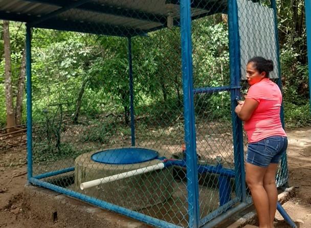 Cárdenas: Sistema de agua en la Comunidad Acetuno.