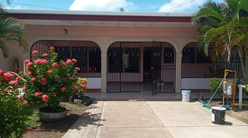 Nandaime restauró la casa materna
