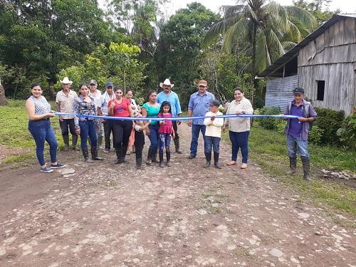 San Miguelito: Mejoramiento de dos kilómetros de camino en la comunidad El Frijolar