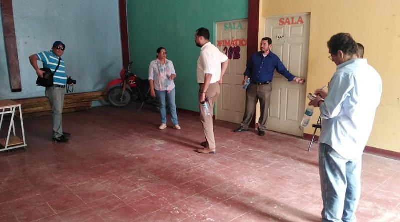 Casa de Cultura  El Guayabal:Edificio multi-funcional, allí  imparten clases de la escuela de oficios y tecnológica