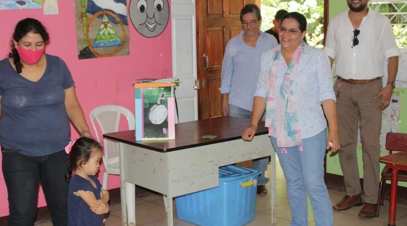 Centro de desarrollo infantil da atención a 25 menores en un ambiente agradable