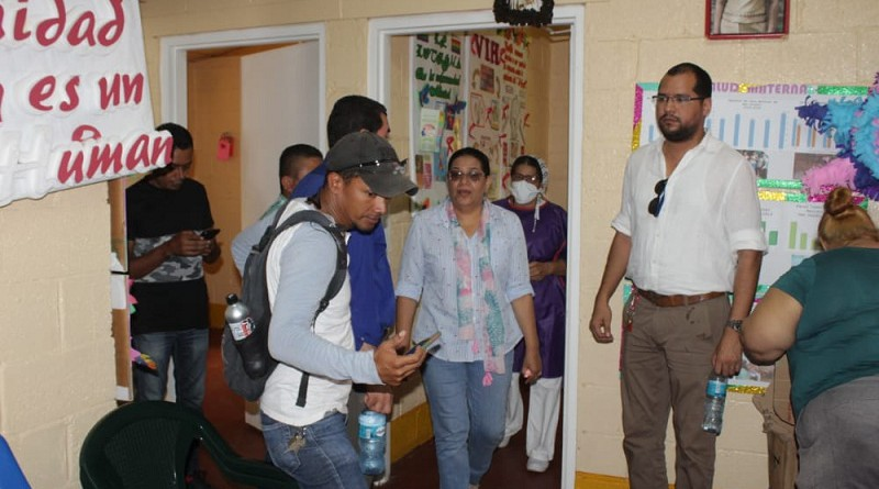 Al momento de la visita nueve embarazadas del área rural esperaban el momento del parto. Dijeron estar más que satisfechas con la atención