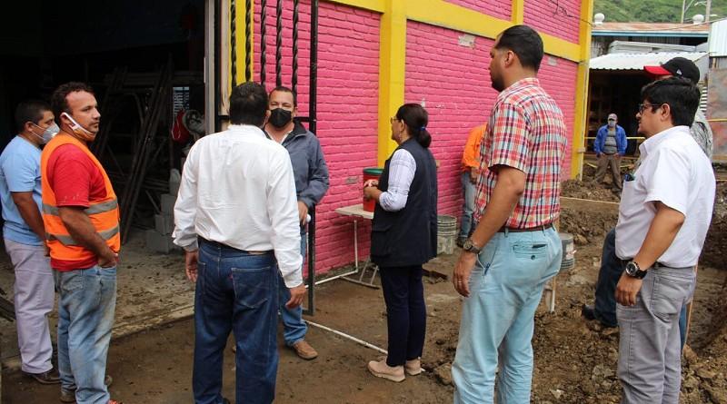 La presidenta del Inifom llegó a uno de los nueve Centro de Desarrollo Infantil con que cuentan en la localidad, con una matrícula de 457 niños
