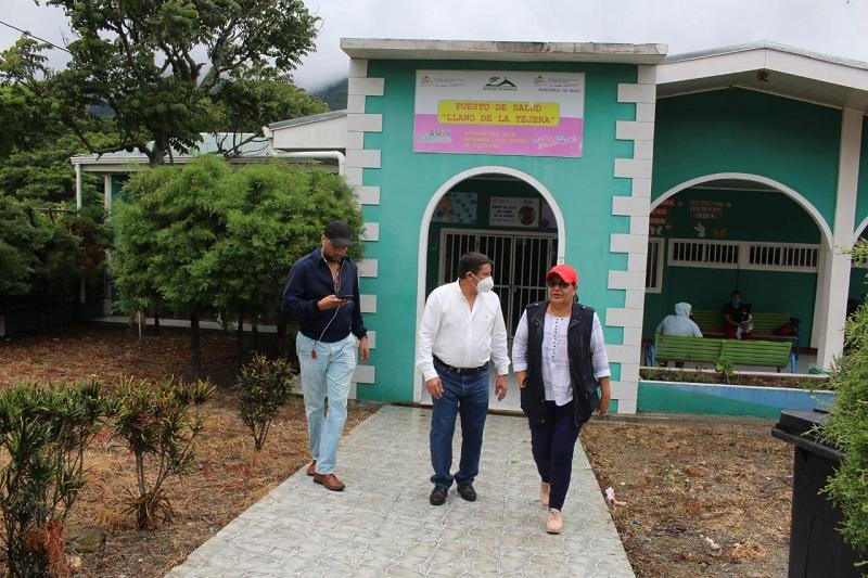En el Centro de salud Llano de La Tejera