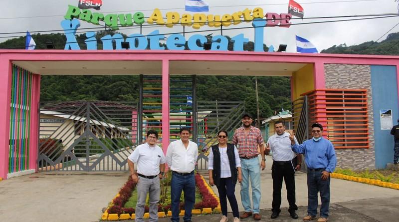 Parque de gran atractivo Apapuerta Xinotecatl