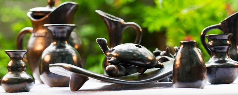 Las expresiones de arte de Jinotega son cuantiosas, entre ellas la cerámica negra en las comunidad La Cureña y El Níspero. De generación en generación se conserva la técnica indígena ancestral.