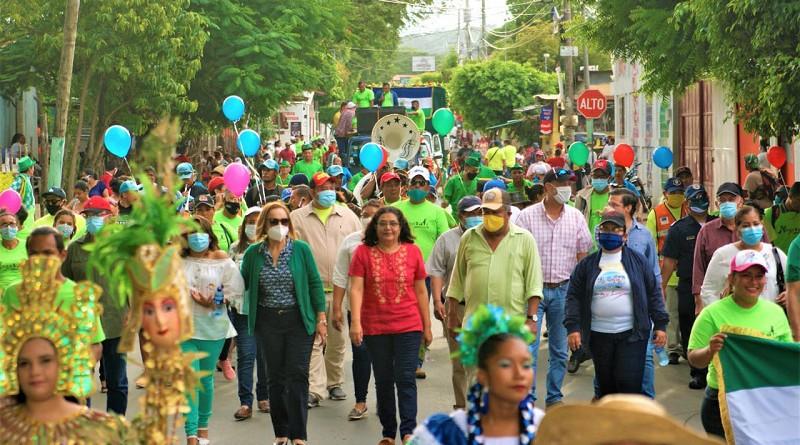 Relanzamiento del concurso El Municipio Más limpio: Nicaragua dice Sí a la Limpieza