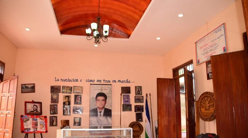 En el interior de la casa museo