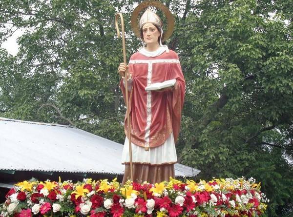 San Dionisio de Atenas patrono local