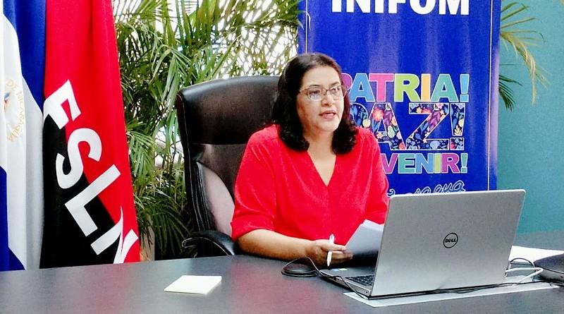 Presidenta ejecutiva del Inifom Guiomar Irias