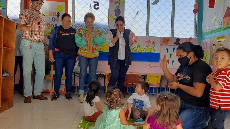 En El Centro de Desarrollo infantil Reynaldo Gómez