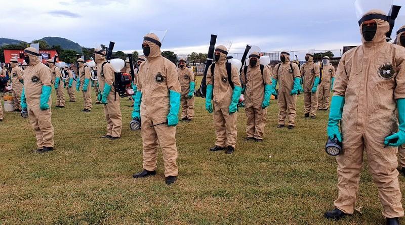 Ejército unido al pueblo en combate de enfermedades.