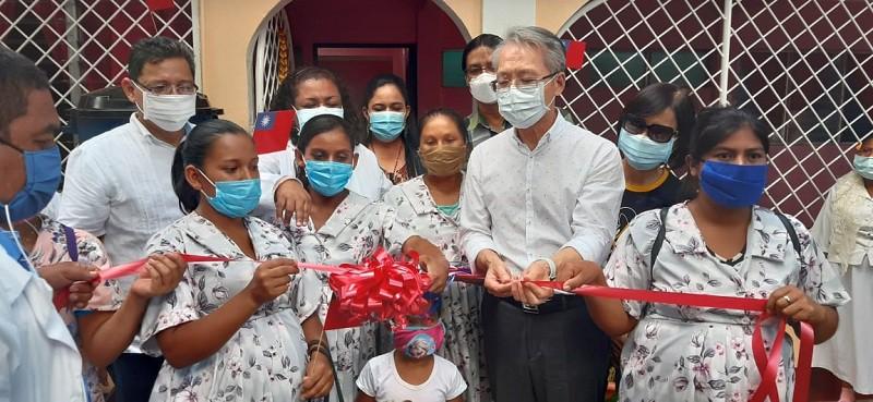 Embajador de Taiwan, Inaugura junto al Minsa, mejoras en casa materna y puesto de salud Villa Libertad de Somoto