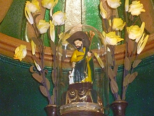 La imagen de San José cuya tradición dice que fue encontrada en Matapalos, donde tiene una ermita