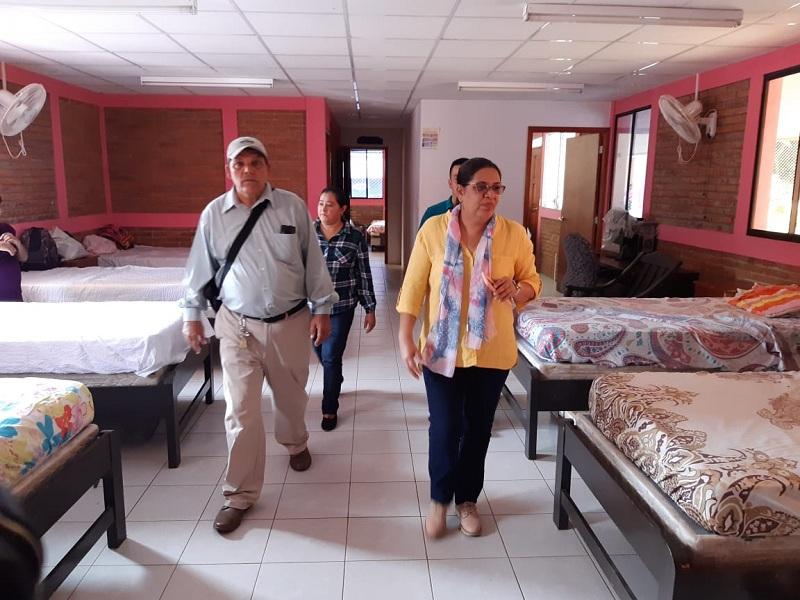 La Casa Materna fue remodelada recientemente para el confort de las embarazosa que allí se alojan mientras dan a luz.